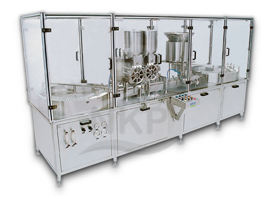 N.K.P. Pharma offers Injectable Dry Powder Filling Machine.