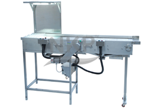 N.K.P. Pharma offers Swing Type Wire Mesh Conveyor with Pre-Inspection.